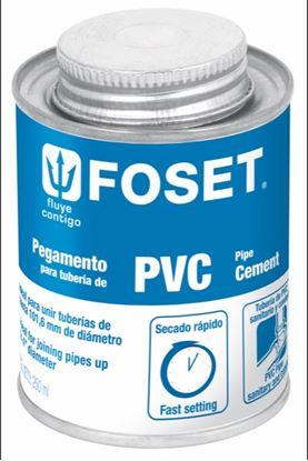 Imagen de PEGAMENTO PARA  PVC EN LATA 250 ML FOSET PPVC-250