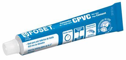 Imagen de PEGAMENTO PARA CPVC EN TUBO 50ML FOSET PCPVC-50