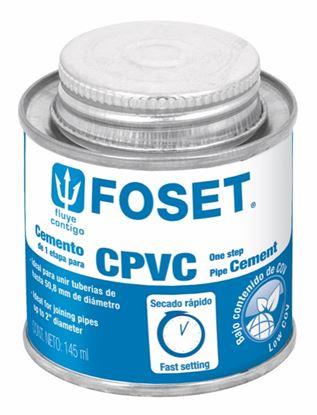 Imagen de PEGAMENTO PARA CPVC EN LATA 145 ML FOSET PCPVC-145