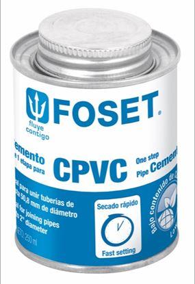 Imagen de PEGAMENTO PARA CPVC EN LATA 250 ML  FOSET PCPVC-250