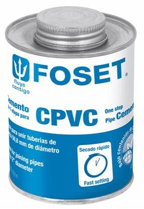 Imagen de PEGAMENTO PARA CPVC EN LATA 500 ML  FOSET PCPVC-500