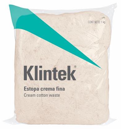 Imagen de ESTOPA, 1 KG, COLOR CREMA KG KLINTEK ESTO-1C