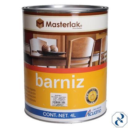 Imagen de BARNIZ 4 L SECADO RAPIDO MASTERLAK ACUARIO MM96040