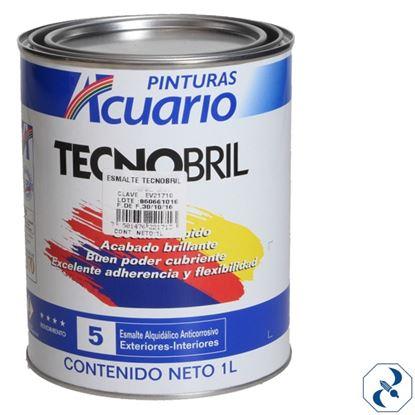 Imagen de ESMALTE 1 L BLANCO TECNOBRIL ACUARIO EV20010