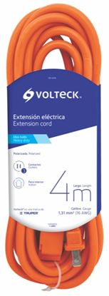Imagen de EXTENSION ELECTRICA USO RUDO 4 M CALIBRE 16  VOLTECH ER-4X16
