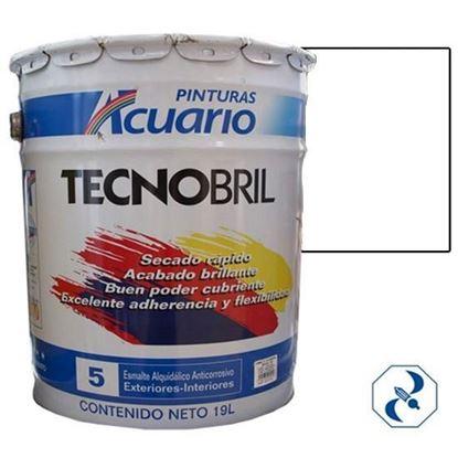 Imagen de ESMALTE DE 19 L BLANCO TECNOBRILL ACUARIO EV20090