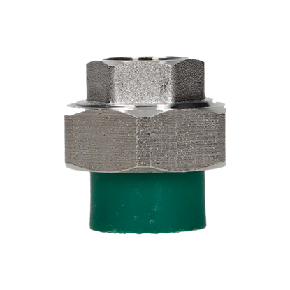 Imagen de TUERCA UNION MIXTA 20 MM 1/2 TERMOFUSIONABLE PPR VERDE PLUS 17201220