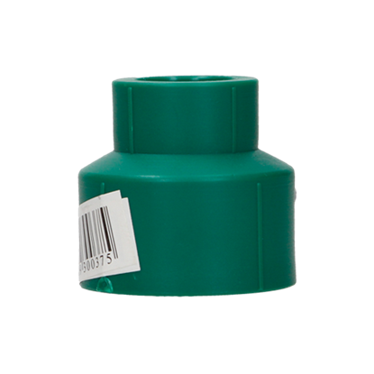 Imagen de REDUCCION 32X20 MM 1X1/2 TERMOFUSIONABLE PPR VERDE PLUS 1520123220