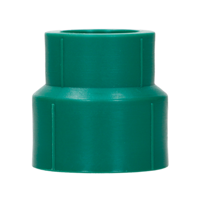 Imagen de REDUCCION 32X25 MM 1X3/4 TERMOFUSIONABLE PPR VERDE PLUS 1520123225