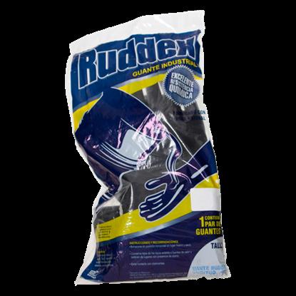 Imagen de GUANTE 9 RUDDEX NEGRO 35 CM ADEX RX35