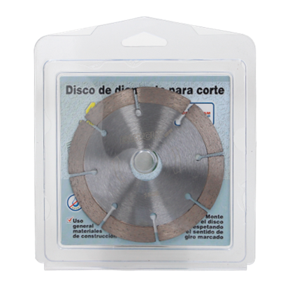 Imagen de DISCO 4 PULG CORTE DIAMANTE ALTURA 7MM 8 EASY CUT 1506