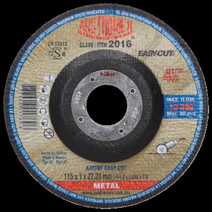 Imagen de DISCO 45 PULG CORTE DE METAL EASYCUT AUSTROMEX 2016