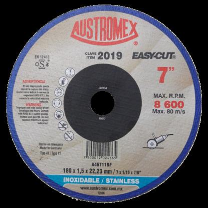 Imagen de DISCO PLANO DE 7X15MM CORTE DE INOX EASY CUT AUSTROMEX 2019