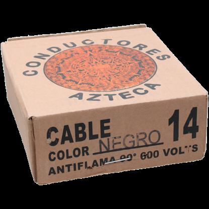 Imagen de CABLE 14 NEGRO AZTECA