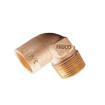 Imagen de CODO 90 1 ROSCA EXTERIOR COBRE IUSA NIBCO 600427