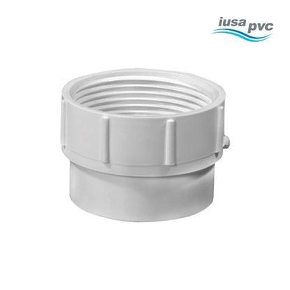 Imagen de CONECTOR RCA INT 1 PULGADA PVC HIDRAULICO CED-40 IUSA 615397
