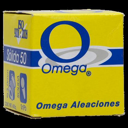 Imagen de SOLDADURA 50/50 3 M CHICA 70 gr  SOLIDA OMEGA