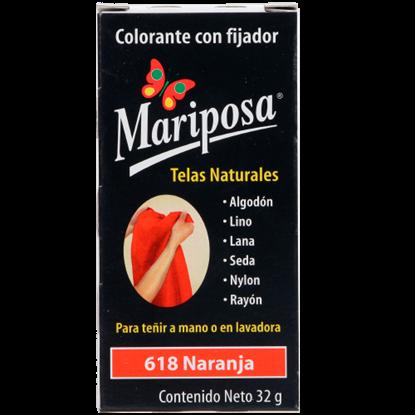 Imagen de COLORANTE NARANJA 618 C/32 GRPASTILLA MARIPOSA 10618