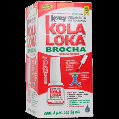 Imagen de PEGAMENTO 5 GR BROCHA KOLA LOKA KBR-5MC