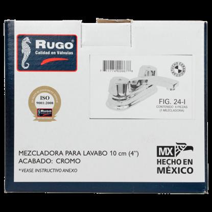 Imagen de D MEZCLADORA LAVABO MAN ACUARIOP CORTO RED CROMO RUGO 24I|