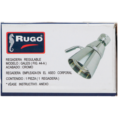 Imagen de REGADERA GALES 1 3/4 REGULABLES/BRAZO RUGO 44A