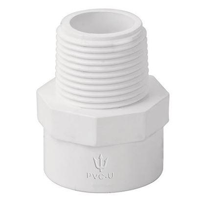 Imagen de ADAPTADOR MACHO DE PVC, 13 MM FOSET PVC-611