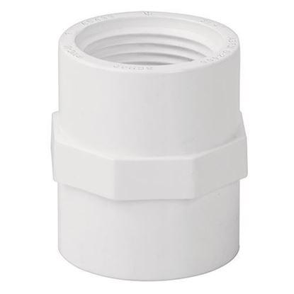 Imagen de ADAPTADOR HEMBRA DE PVC, 13 MM FOSET PVC-601