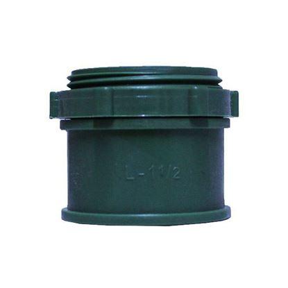 Imagen de D CONECTOR DE PVC CONDUIT VERDE LIGERO 38MM 1 1/2 ARGOS CNPL038