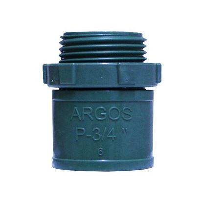 Imagen de CONECTOR PVC PESADO 19MM 3/4 ARGOS CNPP019