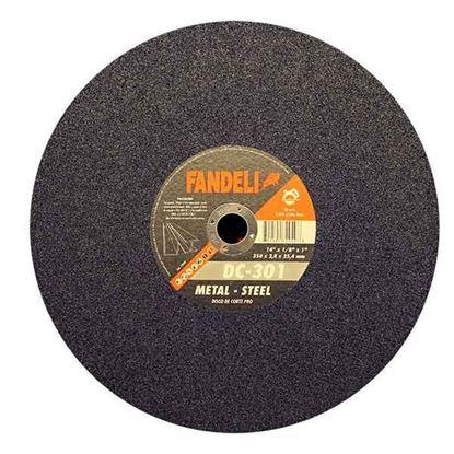 """Imagen de DISCO METAL-STEEL  14"""" 355  X 3.0 X 25.4  FANDELI 72949"""