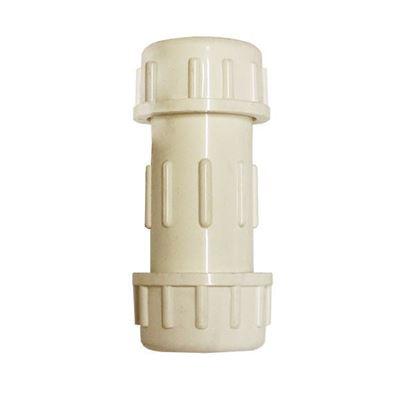 Imagen de D COPLE DE COMPRESION 1 PULGADA PVC HIDRAULICO CED-40 IUSA 615341